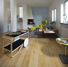 Kahrs Lecco Oak Engineered Wood Flooring Matt Lacquered