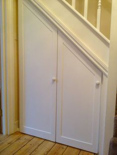 understair storage panel doors  www.fittedbespoke#doors #panel #storage #unde Un Understairs Ideas doors panel storage Unde Understair wwwfittedbespokedoors