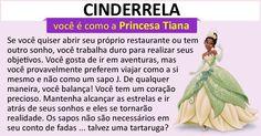 Qual Princesa Disney É Você?