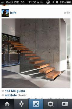 Madera-vidrio-concreto