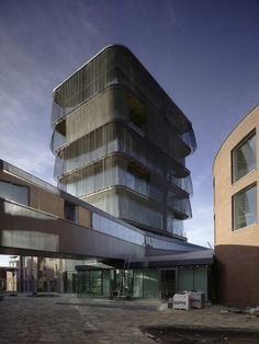 Cultureel building by SeARCH & CMA