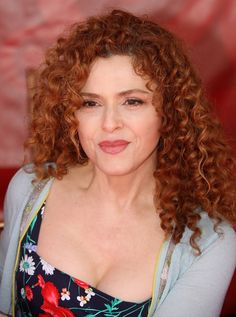 Bernadette Peters- My friend Meg  looks like her... :)