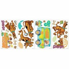 RoomMates Scooby Doo Peel and Stick Wall Decals-RMK1696SCS at The Home Depot