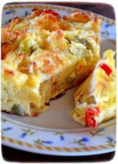 Σουφλέ με πίκλες Macedonia, Crepes, Lasagna, Quiche, Oreo, French Toast, Cooking, Breakfast, Ethnic Recipes