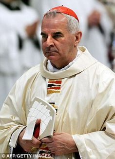 Cardinal Keith O'Brien, Britain's most senior Roman Catholic cleric, resigned after admitting sexual misconduct