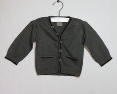 Gilet tricot #GraindeBlé #Z 3mois