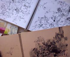 "12 Likes, 2 Comments - Susana Pérez Barrera (@susanaperezbarrera) on Instagram: ""#cuadernodeapuntes #draw #dibujo #drawings #drawingbook"""