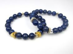 InTuition armband Lapis Lazuli zilver | InTu jewelry energie