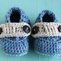 crochet booties for boys
