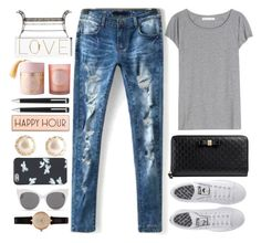 """""""SheIn"""" by itaylorswift13 ❤ liked on Polyvore featuring adidas, Gucci, Acne Studios, Barbour, Blanc & Eclare, Marc by Marc Jacobs, Rosanna, Montblanc and Oliver Gal Artist Co."""