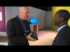 Microsoft Shares Head Up as Ballmer Heads Out