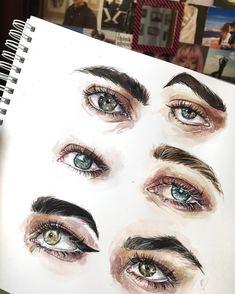 599 отметок «Нравится», 20 комментариев — ⠀⠀⠀⠀⠀⠀⠀⠀             K S U  (@humid_peach) в Instagram: «А вот и глазки  Тут есть глаза двух девочек из инсты, угадаете какие и чьи…»