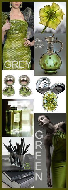 '' Grey & Green'' by Reyhan S.D.