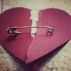 trying to put my heart back together...