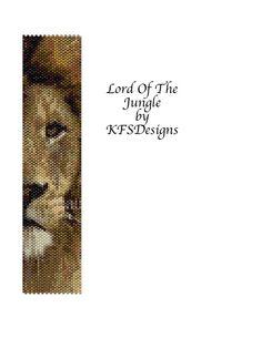Peyote Bracelet Pattern - Lord of the Jungle (Buy 2 Patterns get 3rd. Pattern FREE). $6.50, via Etsy.