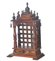 Pick from a royal throne for mandir, intricately designed and beautifully carved temple online at pepperfyr.com. These are definitely going to bring beauty and peace to your home.