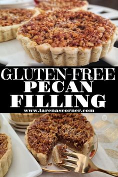 Maple Pecan Tart Filling Recipe this is a classic and iconic Southern dessert with roasted pecans. Perfect for the fall holidays or anytime. #pecanpie #southernpecanpie #traditionaldessert #refinedsugarfree
