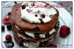 Tasty Health: Kalorisnåla low carb chokladpannkakor