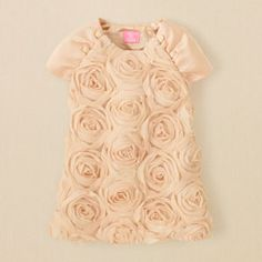 chiffon rosette dress for Molly Newborn Girl Dresses, Newborn Girls, Flower Girl Dresses, Girls Dresses, Fashion In, Kids Fashion, My Baby Girl, Girly Girl, Toddler Outfits