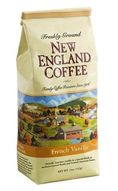New England Coffee  Ground  French Vanilla 11oz  Pack of 2 ** Read more at the affiliate link Amazon.com on image.
