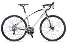 AnyRoad biało-czarny (2013) - Rowery | Rowery Giant - szosowe, górskie, damskie, rekreacyjne, dziecięce, ramy rowerowe, akcesoria rowerowe. | Polska