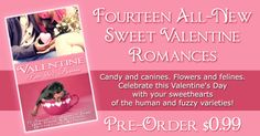 "Folks I have a deal for you!! Check out ""Valentine Pets & Kisses"" Pre-order now for .99 @ http://www.amazon.com/Valentine-Pets-Kisses-Fourteen-Romances-ebook/dp/B019B7MN6G/ref=sr_1_1?s=books&ie=UTF8&qid=1452094465&sr=1-1&keywords=valentine+pets+and+kisses"