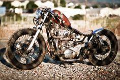 XS650 Brat style