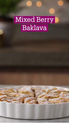 Just Desserts, Delicious Desserts, Dessert Recipes, Yummy Food, Pastry Recipes, Baking Recipes, Tastemade Recipes, Baklava Recipe, How Sweet Eats