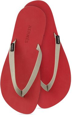 Hermes Isolella flip flops