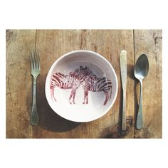 Favorito Studio, illustrated crockery