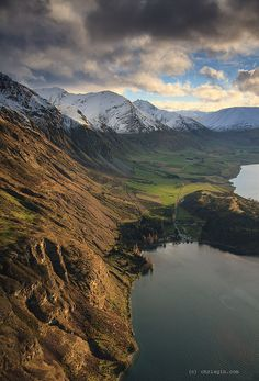 Lake Wakatipu, Otago, South Island, New Zealand
