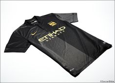 Manchester City Go Back to Black With New Nike Away Strip