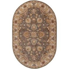 Artistic Weavers John Charcoal Gray 8 ft. x 10 ft. Oval Area Rug  on  Daily Rug Deals