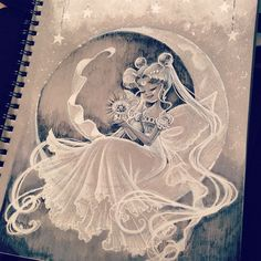 #PrincessSerenity for #inktober. #myart #sailormoon #sailormooncrystal #usagitsukino