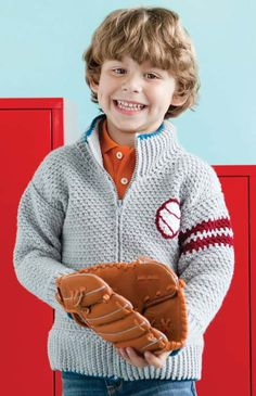 Spring Training Jacket | crochet today  This is the pattern I used for the boy's