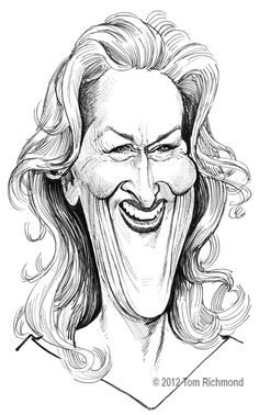 Meryl Streep © 2012 Tom Richmond