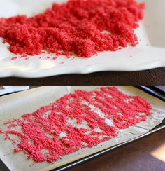 Edible Glitter - cooking sugar  Next year I will have blue sugar glitter to go on my Star of David sugar cookies.