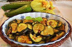 Zucchine alla Poverella della Tradizione Salentina