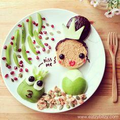 Princess  the Frog #leesamantha #foodart