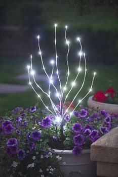 LED branches for the garden :)