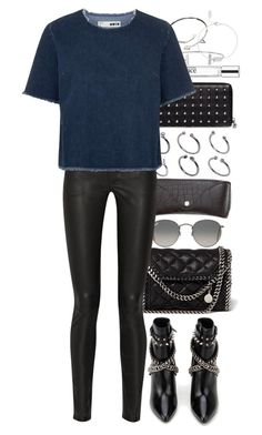 """""""Untitled #8429"""" by nikka-phillips ❤ liked on Polyvore featuring ASOS, Ray-Ban, Alexander McQueen, H&M, philosophy, Humble Chic, STELLA McCARTNEY, Cartier, Acne Studios and Topshop"""