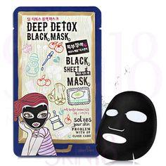 DEWYTREE Deep Detox Black Sheet Mask