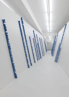 hurtbytheword:    HUGO MARKL  Link (Installation View)  2009 Installation at Eva Presenhuber, Zürich