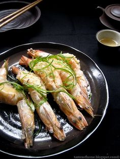 Chinese Garlic Steamed Prawns Recipe 蒜茸蒸虾
