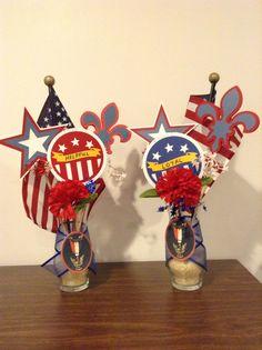Eagle Vases