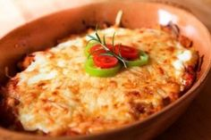 Lecsós rakott hús - Finom és változatos hús receptek képekkel a sütni-főzni vágyóknak Hungarian Recipes, Hummus, Risotto, Mashed Potatoes, Macaroni And Cheese, Muffin, Cooking, Ethnic Recipes, Food