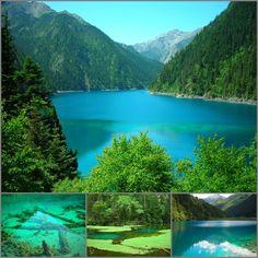 Jiuzhaigou (九寨沟) National Park in China.  #VirtualTourist