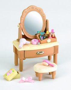Sylvanian families country bathroom set flair http www for Sylvanian families beauty salon dressing table