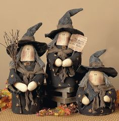 Which witch is which?  :)