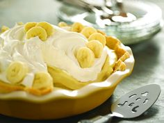 Banana Cream Pie recipe  via Food Network